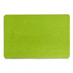 Felt Place Mat Green