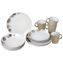 Tableware Set Pepita 16 Pieces