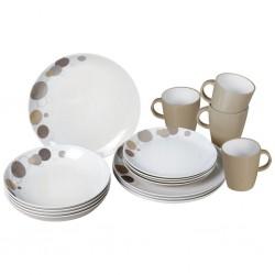 Tableware Set Pepita 16 Pieces