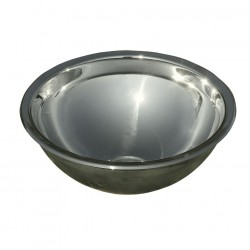 Round Sink Trough Stainless Steel 260 mm