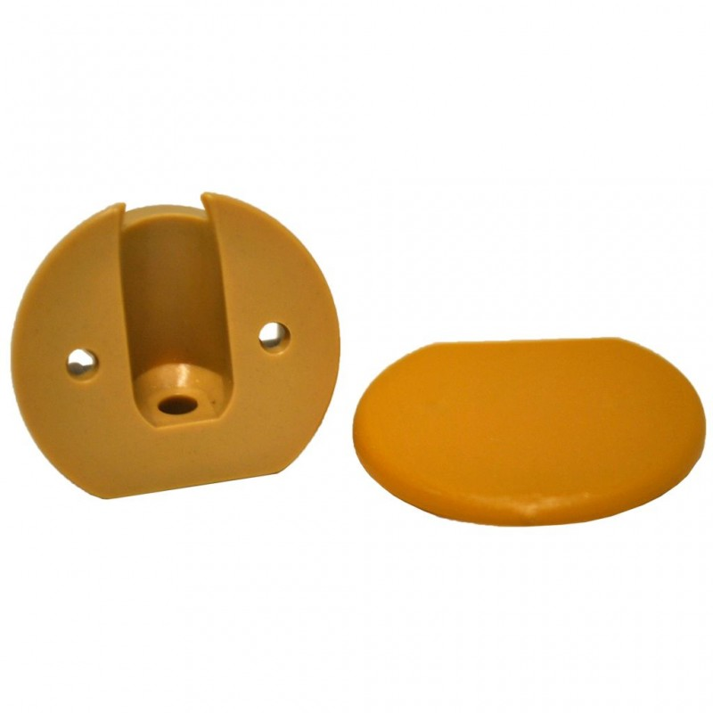 Furniture Connector PVC Creme