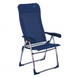 Folding Chair High Dark Blue