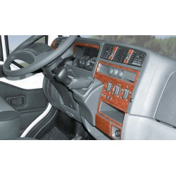 Dash Trim Kit Aluminium Finish for Ford Transit with Passengers Airbag from 05/2006 ***