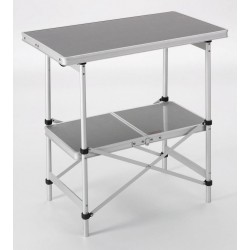 Foldable Aluminium Table with 2 Levels