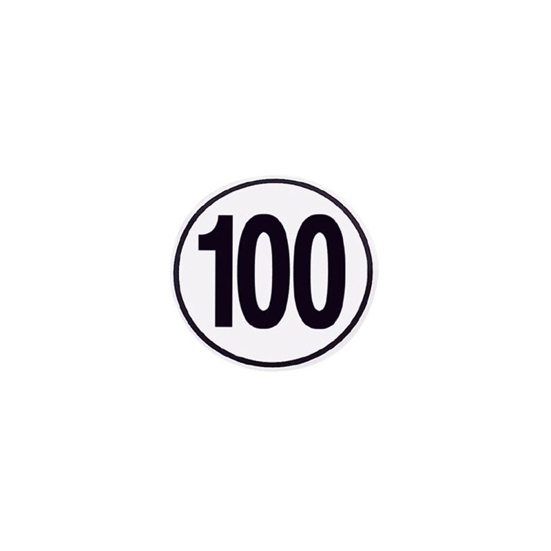 Speed Limit Sign 100 km/h