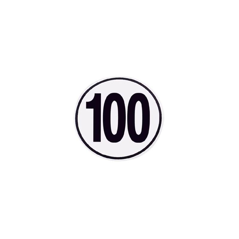 Speed Limit Sign 100 km/h