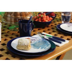 Tableware Set Chrysantheme, 16 Pieces
