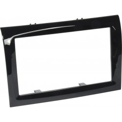 Double-DIN Installation Frame Set for Fiat Ducato from 07/2006, Piano Varnished Cover