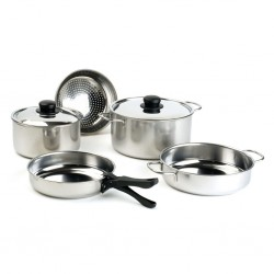 Stainless Steel Cook Set 8-Pieces