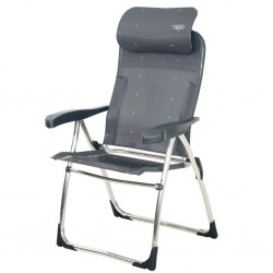 Folding chair Compact round pipe Antracite