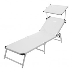 Beach Lounger Marbella White