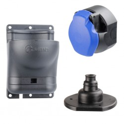 Socket Complete with Holder and Hose Clamp