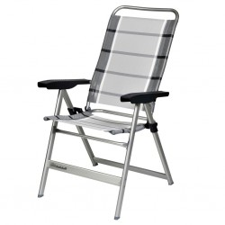 Camping Chair Dynamic Standard, Silver/Anthracite