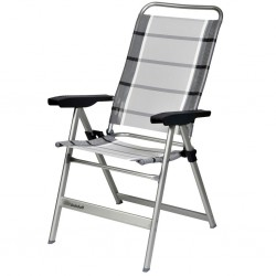 Camping Chair Dolce L, Silver/Grey