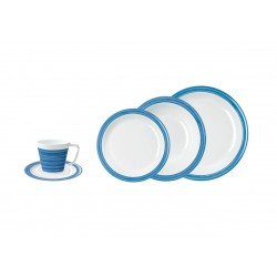 Tableware Set 20 Pieces Blue