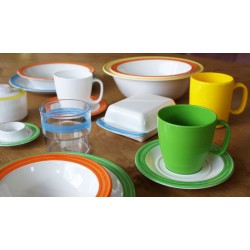 Family 4-Set Bistro Universal Orange