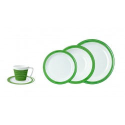 Tableware Set 20 Pieces Green