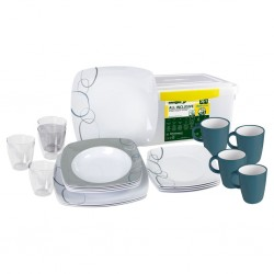 Tableware Set Cascade 36 Pieces