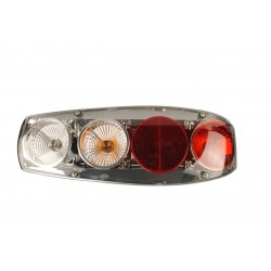 Rear Light Caraluna Chromium II plus - Circle Right