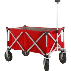 Folding Handcart Cargo Red