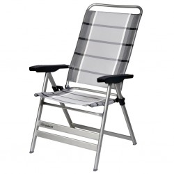 Camping Chair Grande, Silver/Anthracite