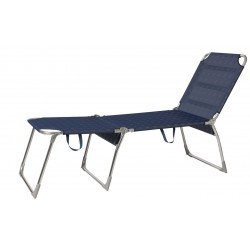 3-Legged Lounger Bachatta Luxus Blue