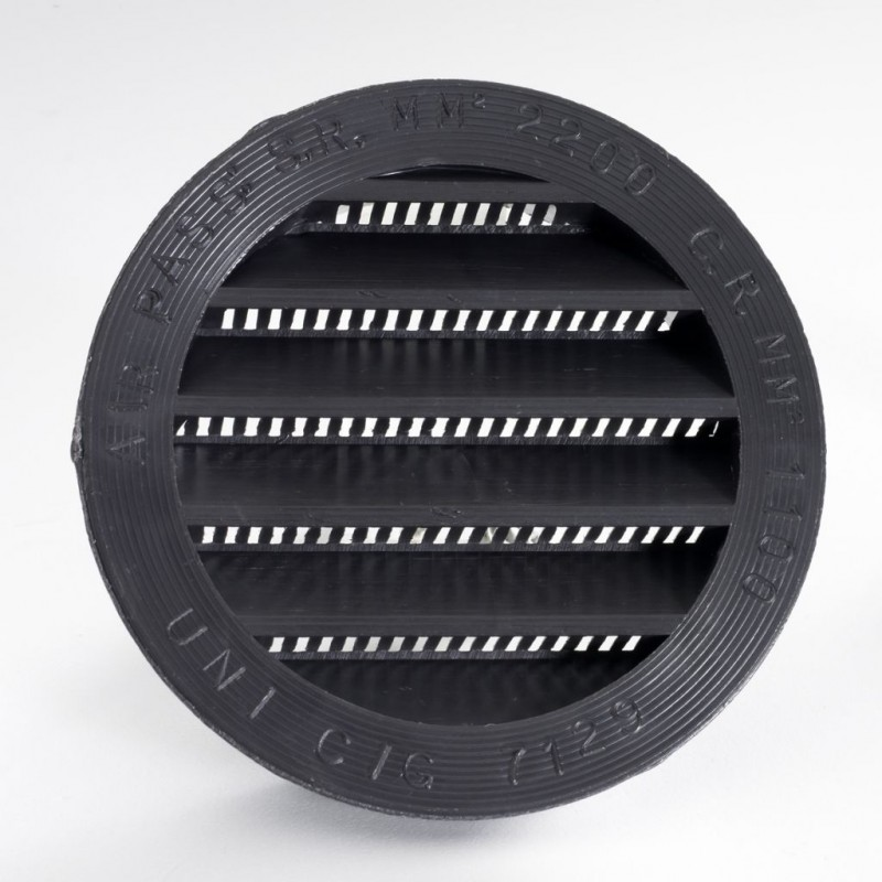 Ventilation Grille ΓΈ 80 mm Brown