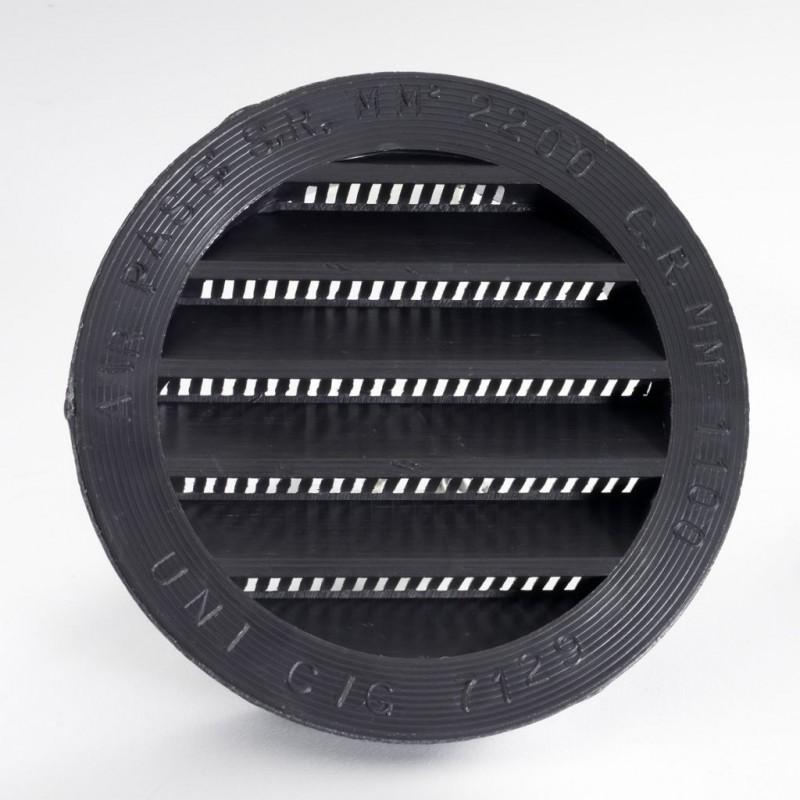 ΠΕΡΣΙΔΑ ΕΞΑΕΡΙΣΜΟΥ ΣΤΡΟΓΓ. ABS (Διάμετρος τρύπας 80mm) ΚΑΦΕ