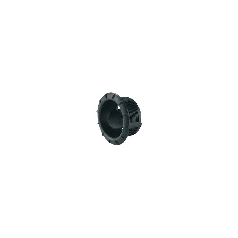 End Outlet EN for Air Conditioners Saphir, Black