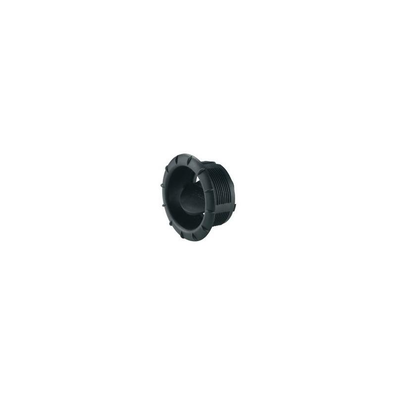 End Outlet EN for Air Conditioners Saphir, Black