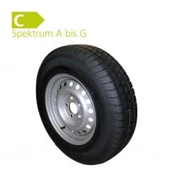 Spare Wheel 185 R14 C 8PR