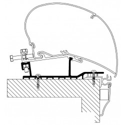 roof adapter Hobby  2009 – 2013