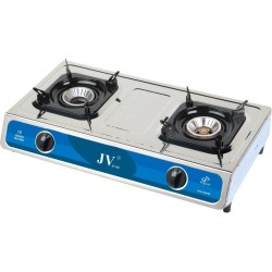 Stainless Steel Stove Turbo 2-Flame