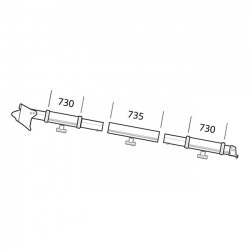Clamping Profile Thule Residence / Panorama 6002 / 6200