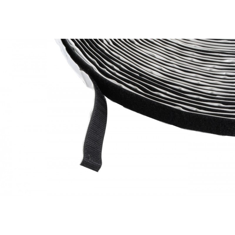 Velcro Black Self-Adhesive