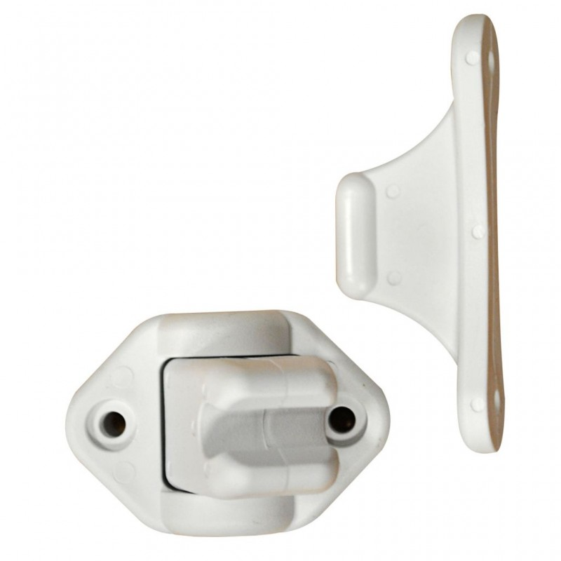 Door Clamp, Flexible White