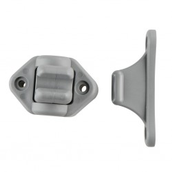 Door Clamp, Flexible Grey