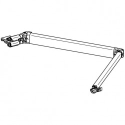 Spring Arm 2 m Thule Omnistor 6200, Awning Length 2,6 m, Left Hand