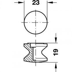 Push Button Nickel