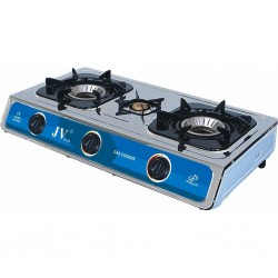 Stainless Steel Stove Turbo 3-Flame