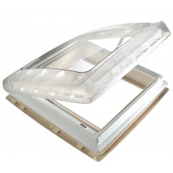 Roof Light Transparent with Ventilator, 12 V