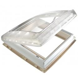 Roof Light Transparent with Ventilator, 12 V