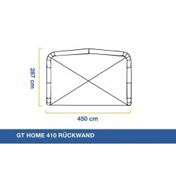 GT Home 410 Rear Wall
