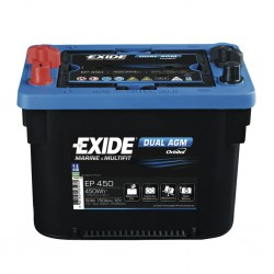 EXIDE Dual AGM 50 Battery