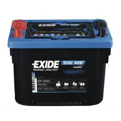 EXIDE Dual AGM 50 Battery
