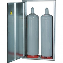 Gas Bottle Storage for 2 Bottles 33 kg