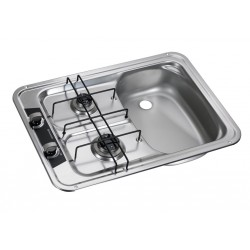 Built-In-cooker-sink-combination unit HS 2420R, right sink
