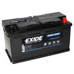 EXIDE Dual AGM EP 800 Battery