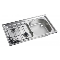 Built-In-cooker-sink-combination unit HS 2421R, right sink