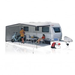 Sun Awning Variabella – drawn-in on the left-hand side